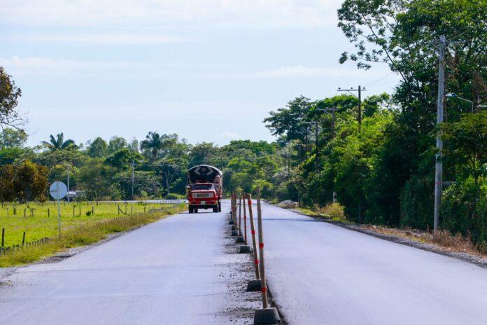En un mes reiniciarían obras en la vía Las Mercedes-Barcelona - Noticias de Colombia